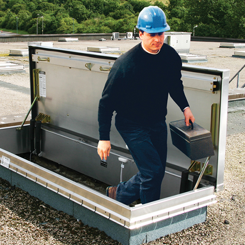 Bilco Roof Hatch