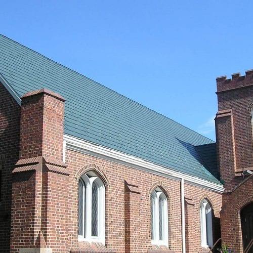 MetalWorks® StoneCrest® Tile - Quaker Green